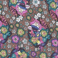Baby Bouquet in Dusk in Little Folks Voile by Anna Marie Horner for Westminster/Free Spirit.