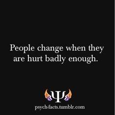 People change....