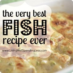 The Very Best Fish Recipe Ever.  An easy & versatile creamy parmesan topping that works with almost any type of fish.  [■3/4 c. shredded Parmesan cheese  ■1/3 c. butter, softened, ■1/4 c. mayonnaise  ■3 tbsp lemon juice  ■1/4 c chopped green onions  ■1/4 tsp. salt  ■1/4 tsp. pepper  ■2 tsp. freeze dried dill (opt)
