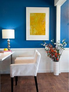 Love that color!  I soooo want it for my dining room.