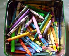 How to get crayon off every surface in your home via @odeedoh