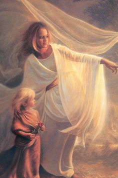 """Heavenly Hands"" by Greg Olsen"
