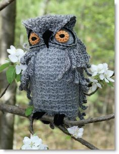 Hooter the Owl free pattern PDF File. What an amazing pattern for Halloween or everyday! #crochet #DIY