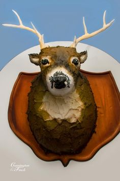 JBH is going to need one of these. *incredible* deer cake | cakes by graham | richmond, va