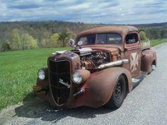 1940 Ford Pickup Truck, true rat.