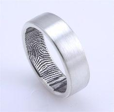 fingerprint wedding band.