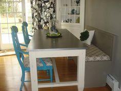 chair, dine, space saving kitchen diy, kitchen tables, dining room tables, ballard tabl, space saving kitchen table, design, kitchen stuff