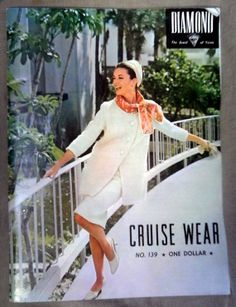 Vintage 1960s Diamond Cruise Wear No. 139 Knitting Pattern Booklet