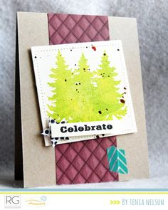 Fun Holiday DIY card