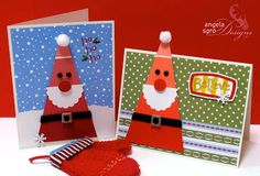 Angela Sgro Designs: Paint Chip Santa