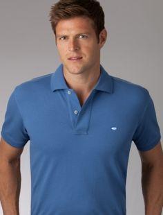 Skipjack Polo - Classic- Sapphire Blue $75 www.BellasBoutiqueBainbridge.com #SouthernTide #Skipjack