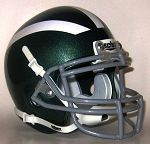 Damien Spartans Schutt Replica Mini Helmet - La Verne, CA