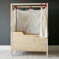 Three Brothers in Spain Reinvent the Nursery : Remodelista. If not much space.
