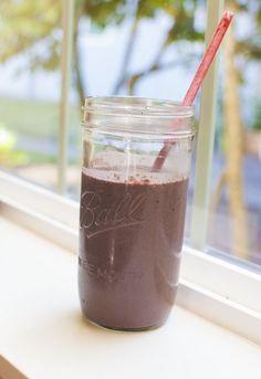Chocolate Cherry Breakfast Smoothie