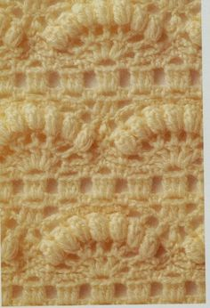 Lovely bobble stitch; chart