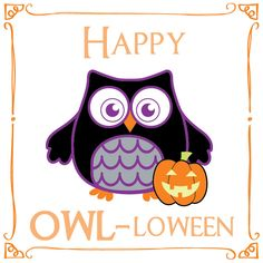 Hoo's excited for Halloween?