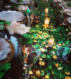 St Patricks day party decor idea