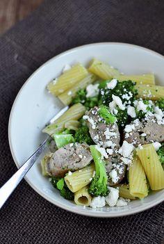 Chicken Sausage Pasta w/ Broccoli