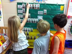 children choose their Daily 5 stations for each rotation