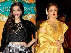 Rekha wants her upcoming film Super Nani's trailer to be attached to Sonam Kapoor'sKhoobsurat  #Rekha   #SonamKapoor   #Khoobsurat