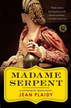 Madame Serpent: A Catherine De' Medici Novel by Jean Plaidy - Amid the glittering fêtes and banquets of the most immoral court in sixteenth-century Europe, a reluctant bride becomes a passionate but unwanted wife. Humiliated and unloved, Catherine spies on Henry and his lover. Tortured by what she sees, Catherine becomes consumed by a ruthless ambition destined to make her the most despised woman in France. (Bilbary Town Library: Good for Readers, Good for Libraries)