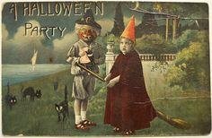 Vintage Halloween Cards | vintage-halloween-card.-2jpg