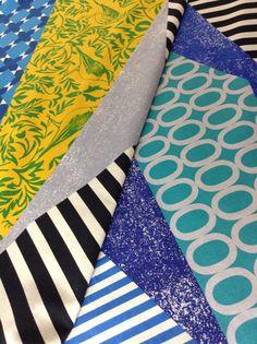 Echino, Decoro 2013, Rhythm Yellow  #fabricworm