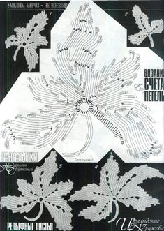 Collection embossed leaves. - Russian Service Online Diaries
