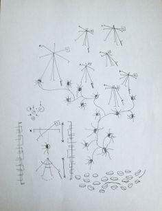randomly drawing / inspired by Marius Watz talk at Pratt http://www.pratt.digitalfutures.info/?p=1291