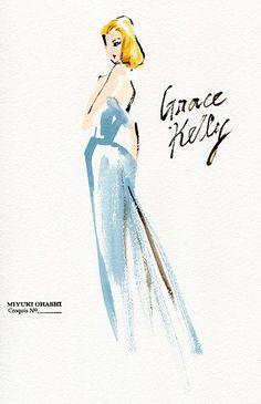 Grace Kelly by Miyuki Ohashi