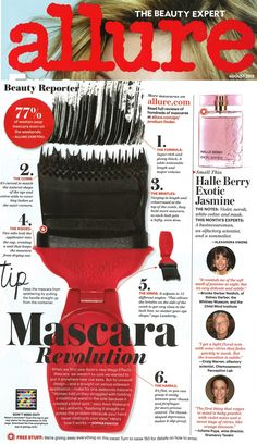 So proud of our full page feature in the August issue of Allure Magazine! #MegaEffects