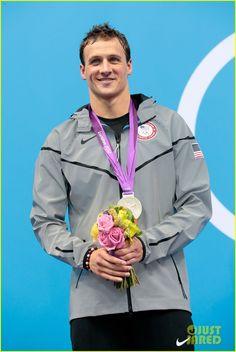 Ryan Lochte Celebrates 28th Birthday at London Olympics!