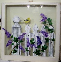white picket fences, paint window, painted glass windows, painted windows, front porches