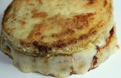 EGGPLANT GRILLED CHEESE LOWCARB