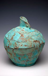 full of texture and color Ann Berger Studio.