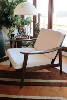 scandanavian chairs pair