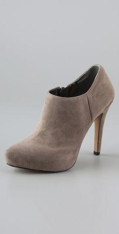 shoes, sam edelman, woman fashion, bootie heels, sued platform, edelman booti, platform booti, smaller heel, fashion boots