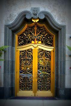 Golden door.