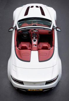 Aston Martin V12 Vantage Roadster.
