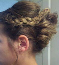 Braid hair Updo