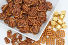 Glorious Treats » Rolo Pretzel Bites {Easy and Delicious!}