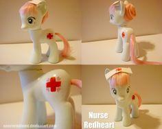 Custom Nurse Redheart #nurse