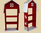 Red Barn Childrens Bookshelf