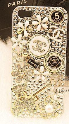 IPhone Case Bling Luxurious Gem Diamond Case For iPhone 4 Case iPhone 4S Case iphone 4/4S case IPhone 5 Case on Etsy, $27.99