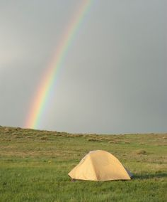 Tips for camping in the rain!