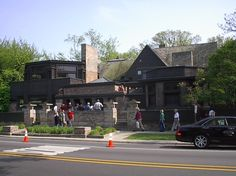 Frank Lloyd Wright Home & Studio – Architecture Linked - Architect & Architectural Social Network