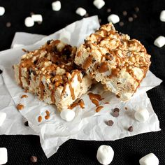 Cookie Butter Avalanche Bars