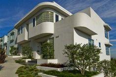 Streamline Moderne home, San Francisco, built in 1938