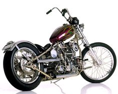 The grease Monkey !  The Indian Larry's Old school panhead