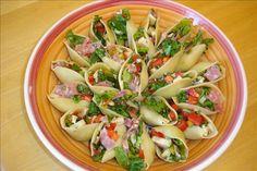 chopped salads, italian salad, shells, pasta salad, food, italian chop, recip, pastas, chop salad